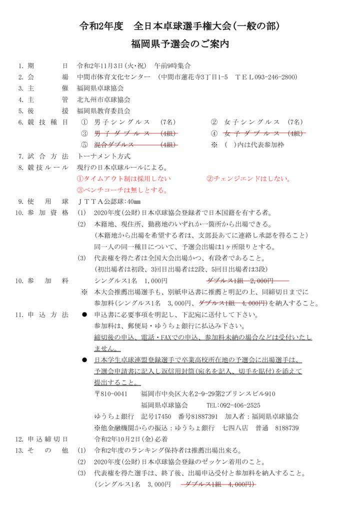 全日本卓球選手権大会(一般の部)訂正のサムネイル