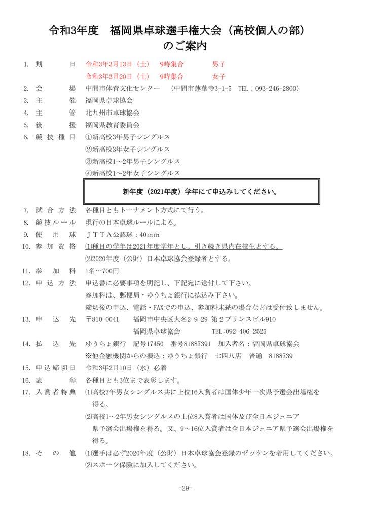 県選手権(高校)のサムネイル