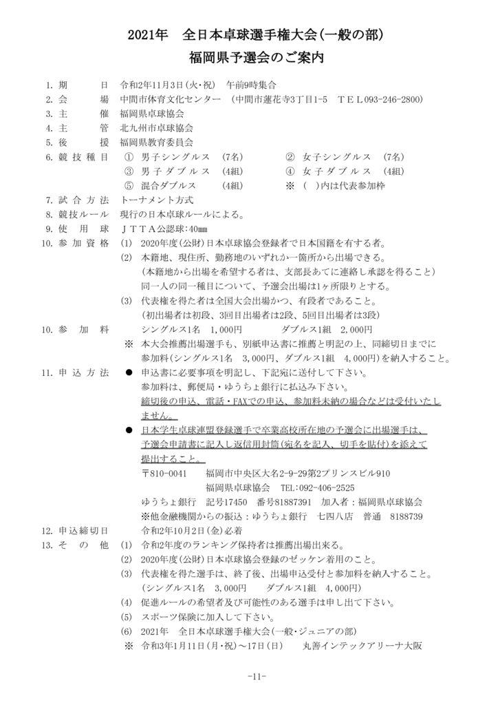 P11全日本一般要項のサムネイル