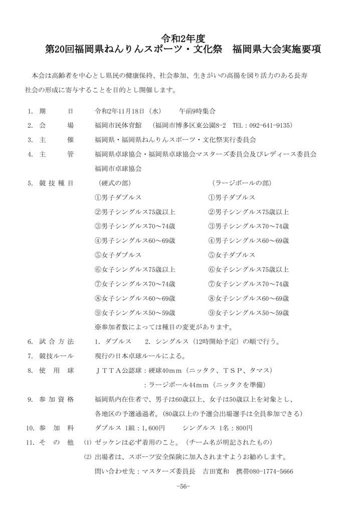 P56 ねんりん県大会のサムネイル