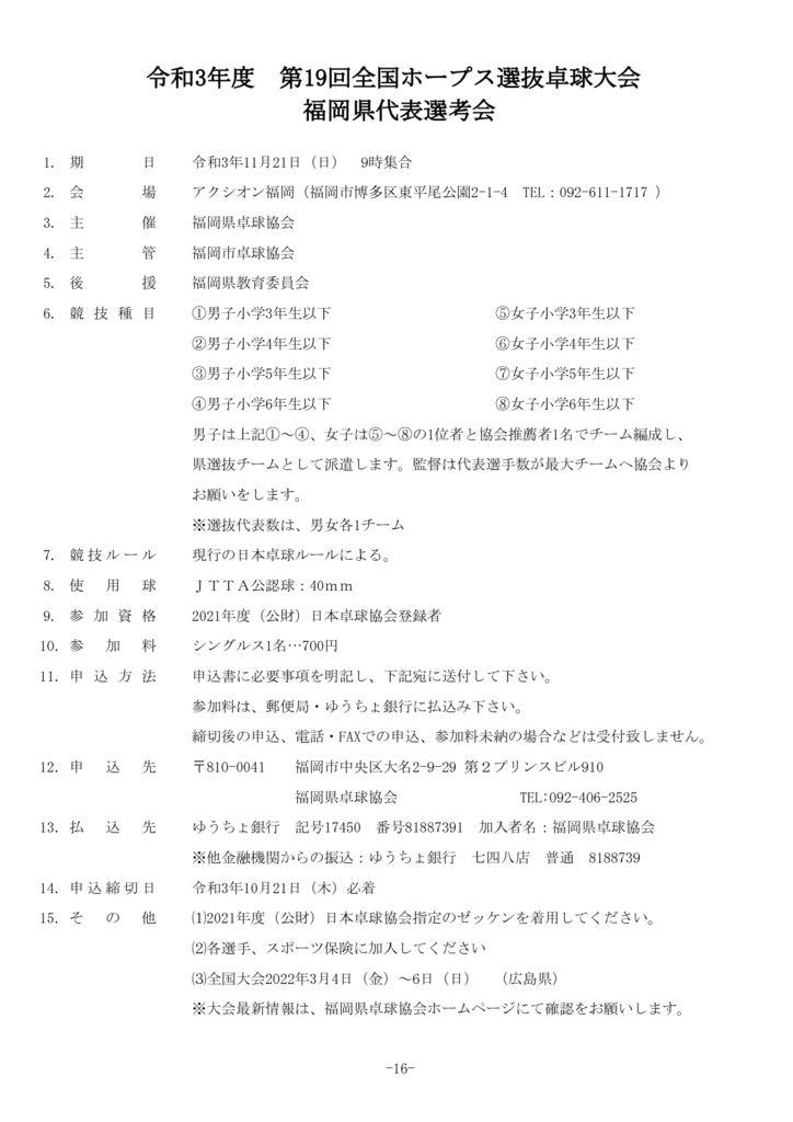 16.全国ホープス選抜のサムネイル
