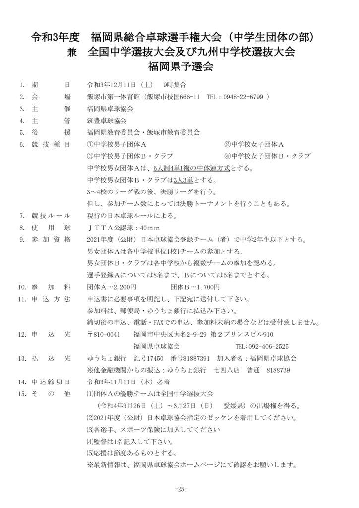 25.福岡県総合(中学団体)のサムネイル