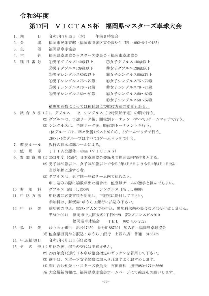36.令和3年度福岡県マスターズ7.15のサムネイル