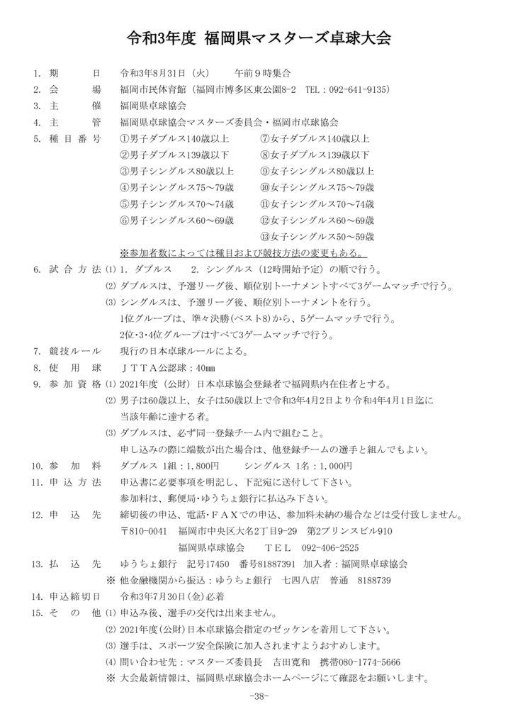 38.令和3年度福岡県マスターズ8.31のサムネイル
