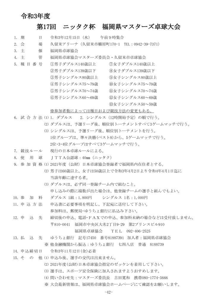 42.令和3年度福岡県マスターズ12.15のサムネイル